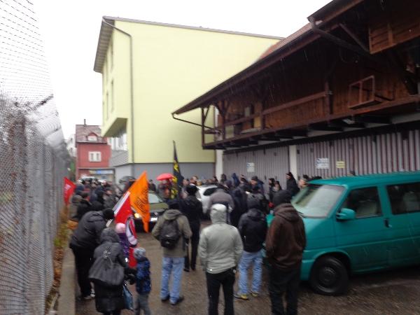 Bild von der Demonstration